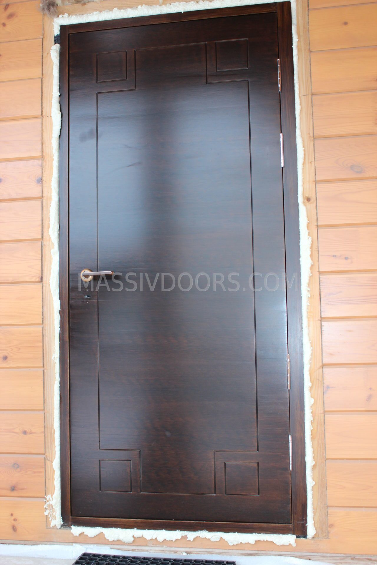 Входные деревянные двери для дачи своими руками